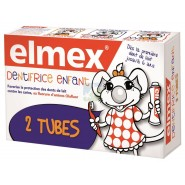 Elmex Enfant Dentifrice 2 x 50 ml