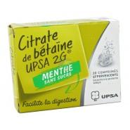 UPSA Citrate de Bétaïne Menthe Sans Sucre 2 g