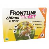 Frontline Tri-Act Chiens 5-10 kg x 3