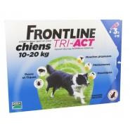Frontline Tri-Act Chiens 10-20 kg x 3