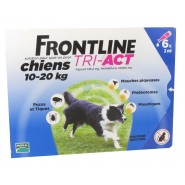 Frontline Tri-Act Chiens 10-20 kg x 6