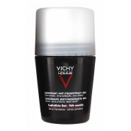 Vichy Homme Déodorant Bille Anti-trace Peau Sensible 48h 50 ml