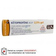 Kétoprofène 2,5 % Gel 120 g