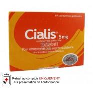 Cialis 5 mg Comprimés pelliculés x 84