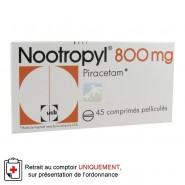 Nootropyl 800 mg Comprimés Pelliculés x 45
