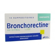 Bronchorectine au Citral Enfants Suppositoires x 10