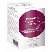 Granions Levure de Riz Rouge 750 mg x 60
