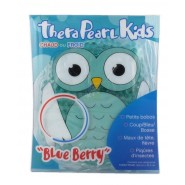 TheraPearl Kids Poche Chaud ou Froid - Hibou Blue Berry
