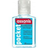 Assanis Pocket Gel antibactérien 20 ml