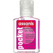 Assanis Pocket Gel antibactérien Parfum Bubble Gum 20 ml