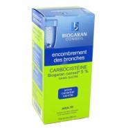 Carbocistéïne Biogaran 5% Adulte Sans Sucre 200 ml