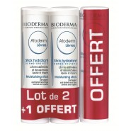 Bioderma Atoderm Stick Lèvres lot de 3
