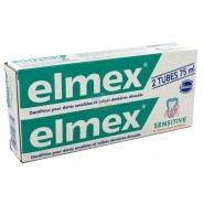 Elmex Sensitive Dentifrice 2 x 75 ml
