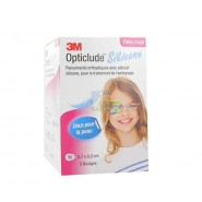 3M Opticlude Silicone 5.7 x 8.0 cm Filles Pansements x 50
