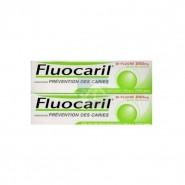 Fluocaril Bi-Fluoré 250 mg Menthe Pâte Dentifrice 2 x 75 ml