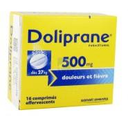 Doliprane 500 mg Effervescent x 16