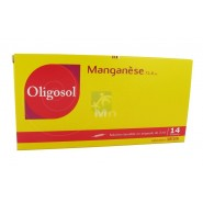 Oligosol Manganèse x 14