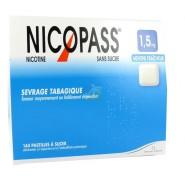 Nicopass 1,5 mg Pastilles Menthe Fraîcheur x 144