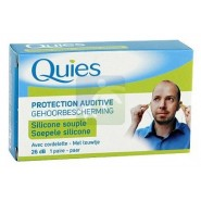 Quies Protection Auditive Maxi Silicone x 6