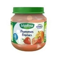 Blédina Petit Pot Pommes Fraises 130 g