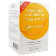 Granions Vitamine D3 Capsules x 60