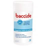 Baccide Lingettes Mains et Surfaces x 100