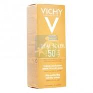 Vichy Idéal Soleil Coffret Crème Onctueuse SPF50 + 50 ml + Stick Lèvres 5 g OFFERT