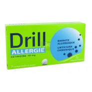 Drill Allergie Cetirizine 10 mg x 7