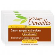 Rogé Cavaillès Savon Surgras Extra Doux Fleur de Coton 4 X 250 g