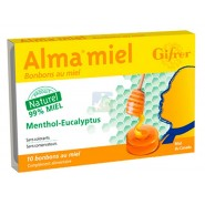 Gifrer Alma Miel Menthol-Eucalyptus x 10