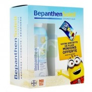 Bepanthen Soleil Coffret Spray Enfant SPF50+ 200 ml + Serviette de Plage Minions OFFERTE