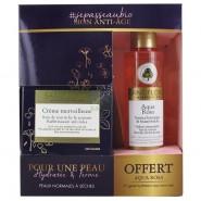 Sanoflore Coffret Crème Merveilleuse Soin de Jour Riche + Aqua Magnifica Essence Botanique OFFERTE