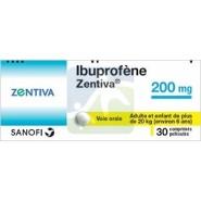 Ibuprofène Zentiva 200 mg Comprimés x 30