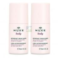 Nuxe Body Déodorant Longue Durée 2 x 50 ml