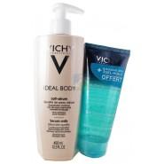 Vichy Ideal Body Lait-Sérum 400 ml + Gel Douche Spa Gel-Huile 100 ml OFFERT