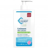 Gilbert Liniment Oléo-Calcaire Flacon Pompe 480 ml