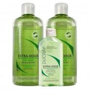 Ducray Extra-Doux Shampooing 2 x 400 ml + 200 ml OFFERT