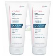 Ducray Ictyane Crème Anti-Dessèchement Corps Lot de 2 x 200 ml