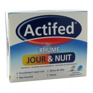 Actifed Rhume Jour et Nuit x 16