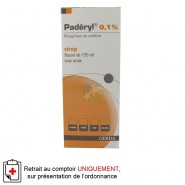 Paderyl 0,1% Sirop 150 ml