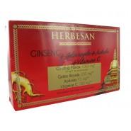 Herbesan Ginseng + Gelée royale + Acérola + Vitamine C 20 x 15 ml